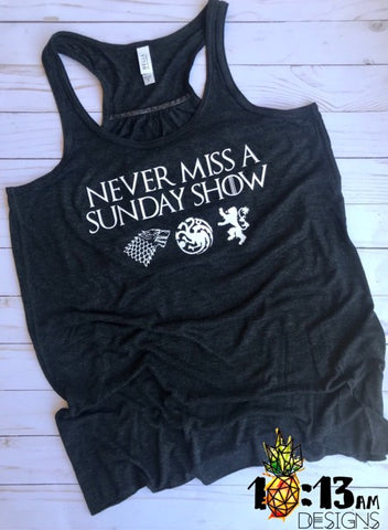 never miss a sunday show :: got x wsmfp