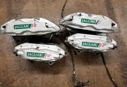 2003-08 JAGUAR S TYPE R Front & Rear Calipers from OEM