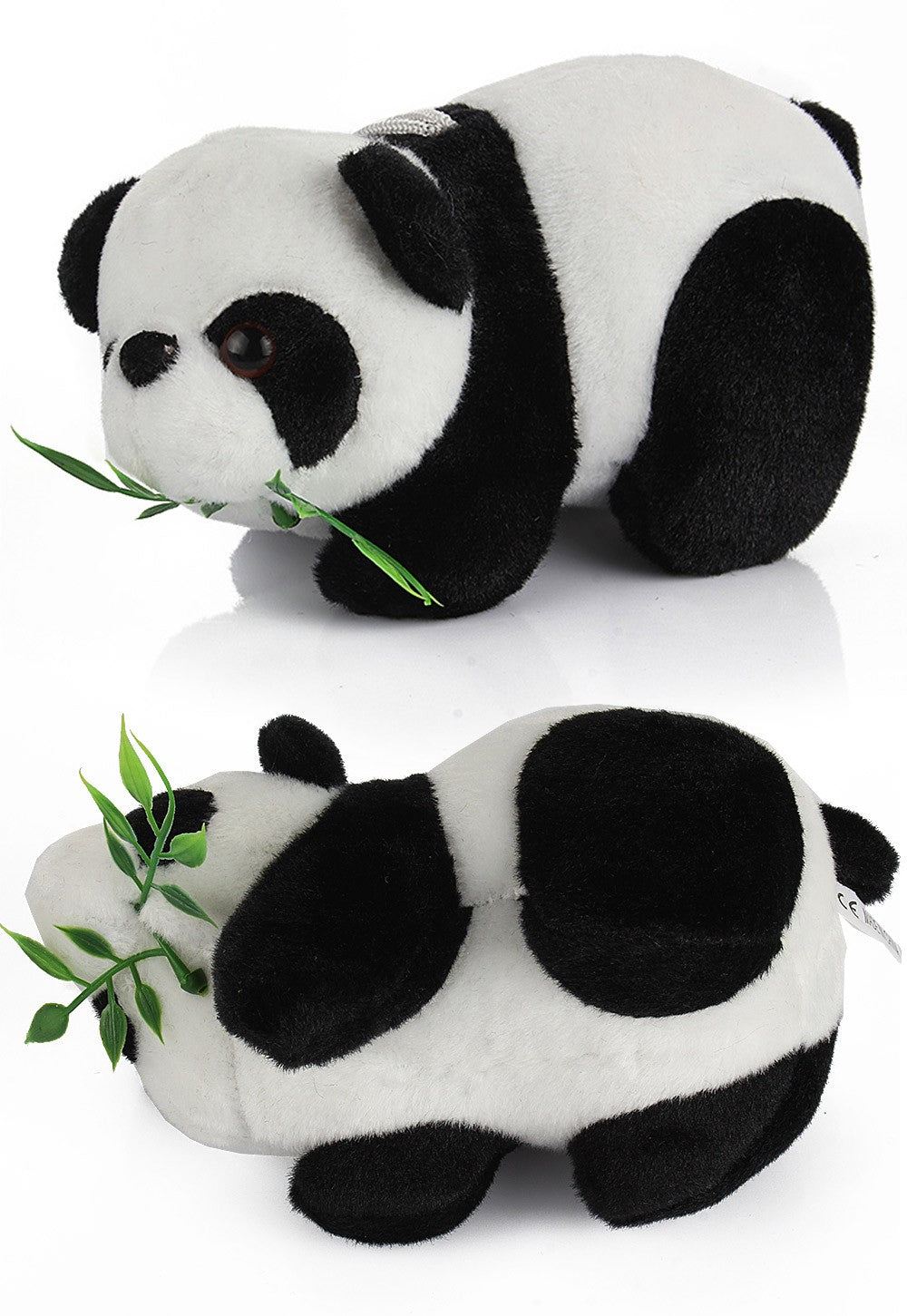 Super Cute Panda Plush Toy with Bamboo (16cm)