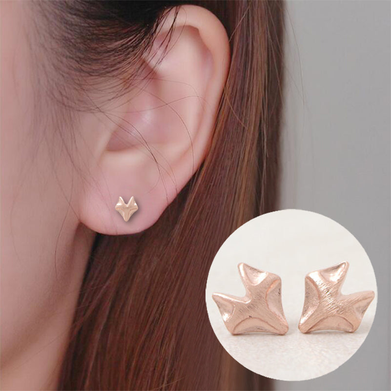 Cute Fox Stud Earrings (3 colours available)