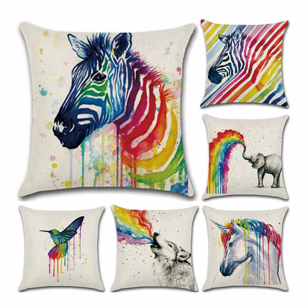 Colorful and Creative Pillow Case Covers