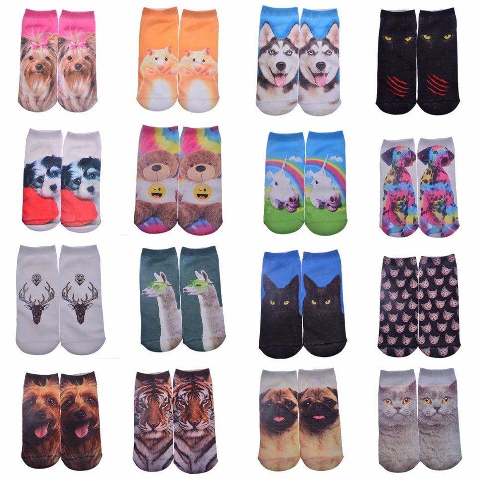Super Comfy and Cute Women's Ankle Socks