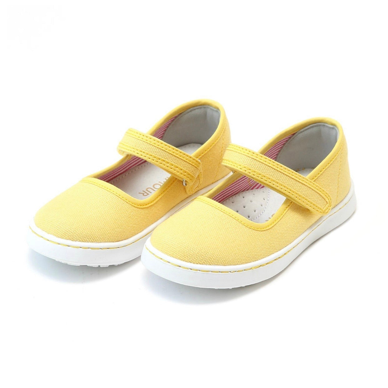 Jenna Canvas Mary Jane- Yellow