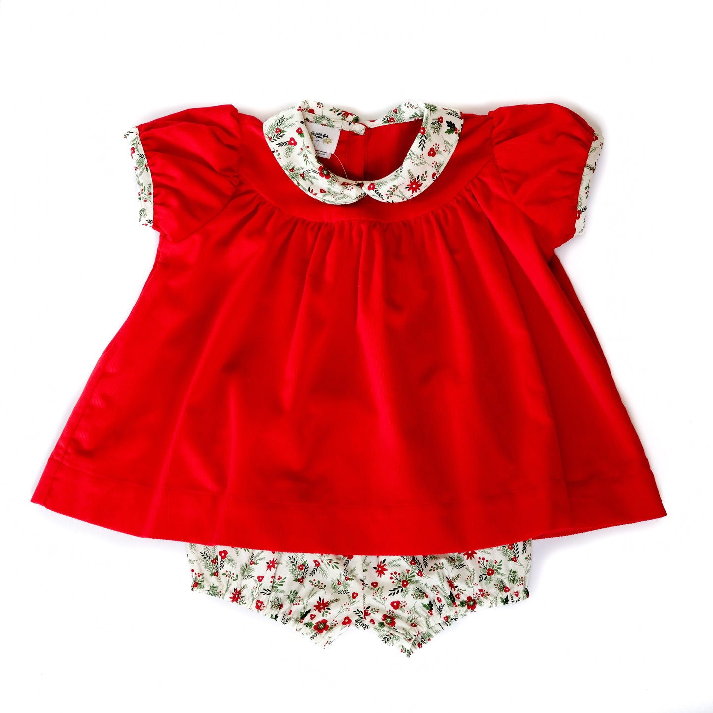 Holly Jolly Corduroy Molly Bloomer Set
