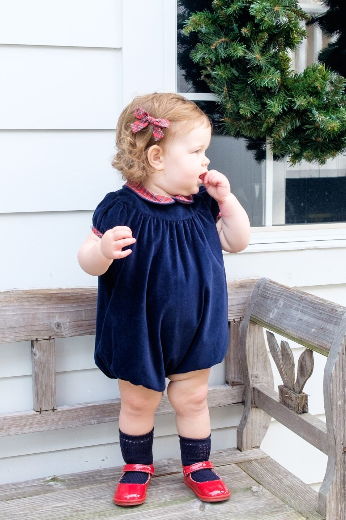 Park Avenue Velvet Jane Bubble (9m-18m,2T)
