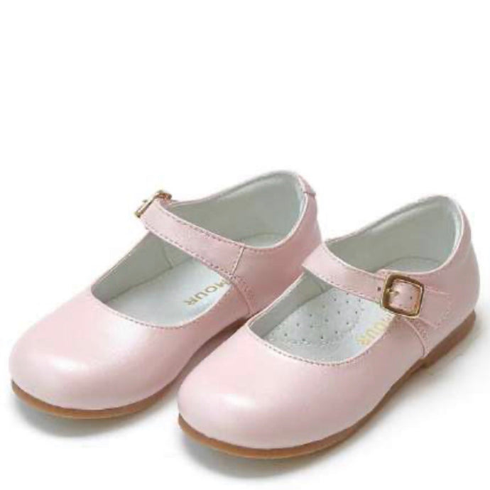 Rebecca Special Occasion Flat- Pearlized Pink