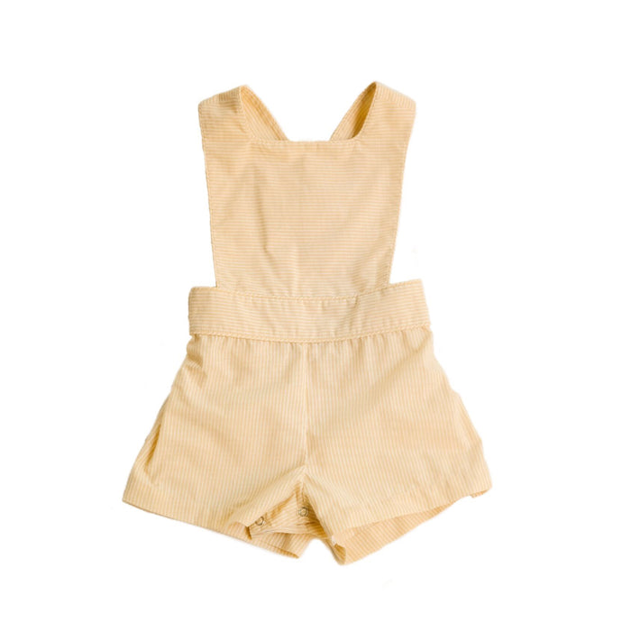 Cheery Cherry Sunshine Stripe Sutton Sunsuit