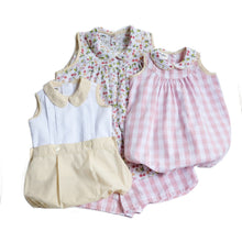 Cheery Cherry Sunshine Stripe Thomas Button On Bloomer (6m, 9m,12m, 2T,3T)