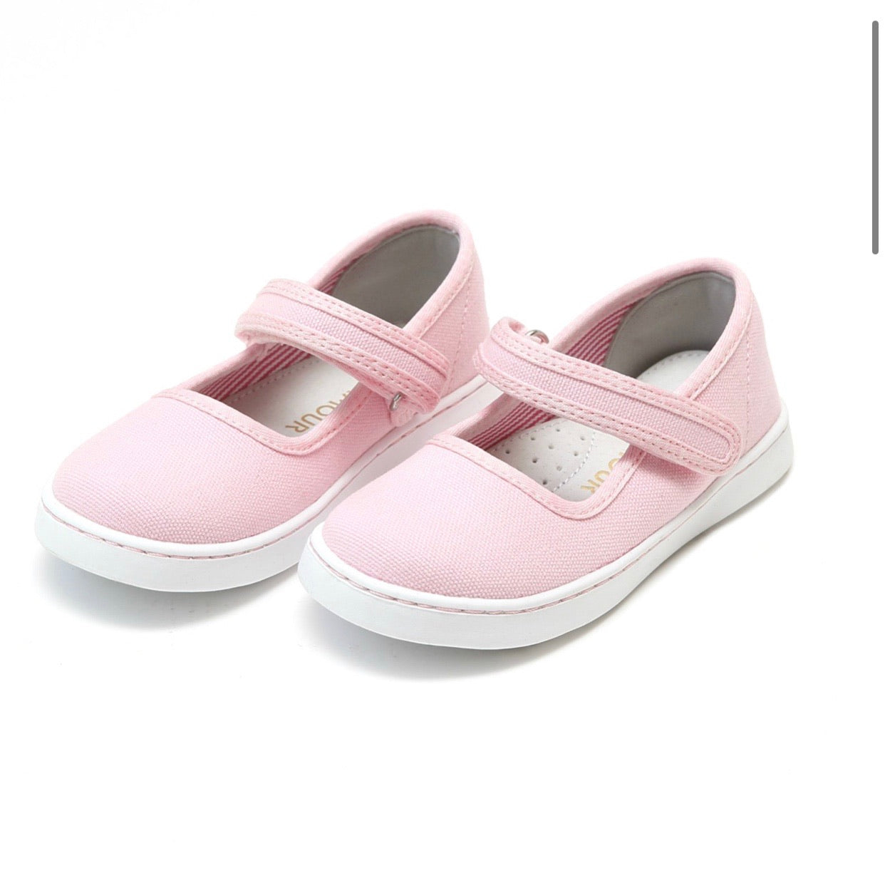 Jenna Canvas Mary Jane- Light Pink