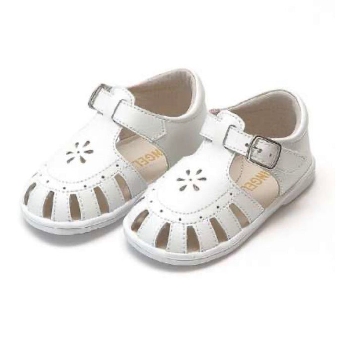 Shelby Caged Sandal White (5)