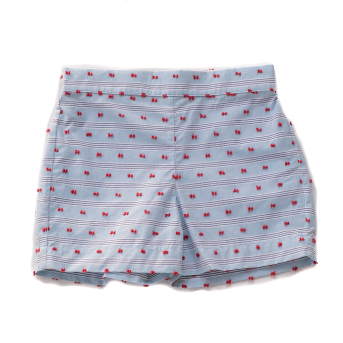 Sail Away Gunter Shorts Separates Red and Blue Plumeti (5,6)
