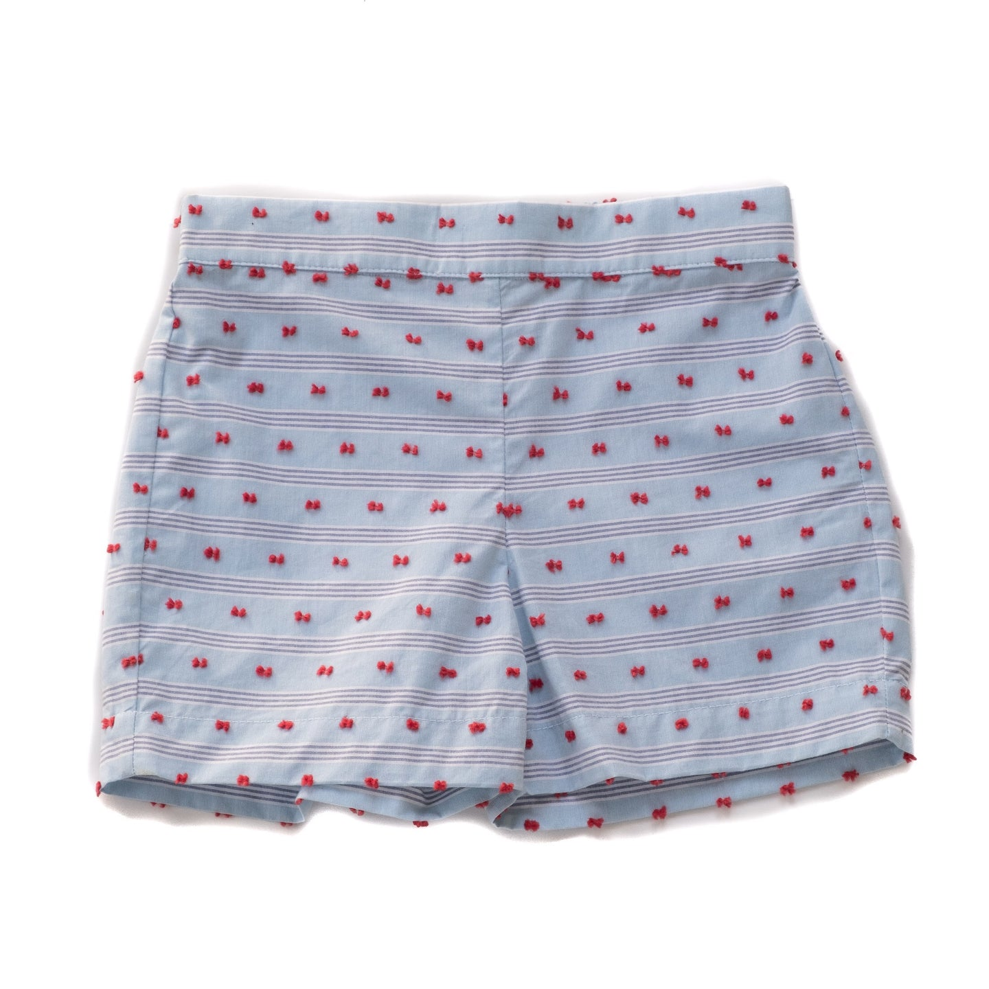 Sail Away Gunter Shorts Separates Red and Blue Plumeti