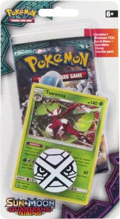 Pokemon Guardians Rising 1 Pack Blister - Tsareena