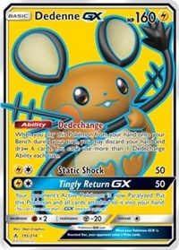 Unbroken Bonds - 195/214 - Dedenne GX Full art