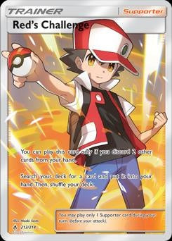 Unbroken Bonds - 213/214 - Red's Challenge Full art