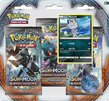 Pokemon Burning Shadows - 3 Pack Blister - Alolan Meowth