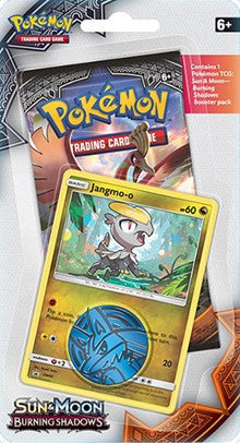 Pokemon Burning Shadows - 1 Pack Blister - Jangmo-o