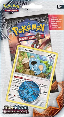 Pokemon Burning Shadows - 1 Pack Blister - Komala