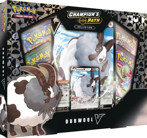 Pokemon - Champion's Path - Dubwool V Collection Box