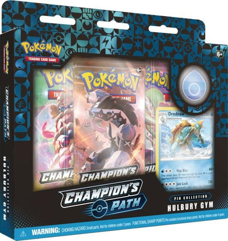 Pokemon - Champion's Path - Pin Collection Box - Hulbury Gym (Pre-order Sep 25 2020)