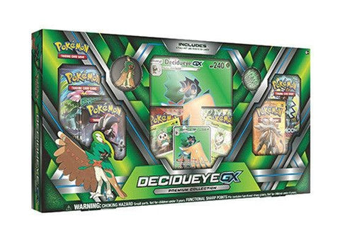Pokemon Decidueye GX Premium Collection Box