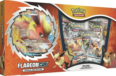 Pokemon - Flareon GX Special Collection Box (Pre-order Jan 18 2019)