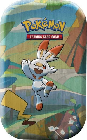 Pokemon Mini Tins: Galar Pals - Scorbunny