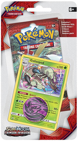 Pokemon Crimson Invasion Check Lane Blister - Golisopod
