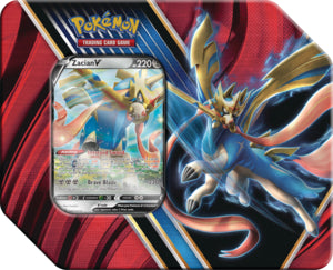 Pokemon: Legends of Galar Tin - Zacian V