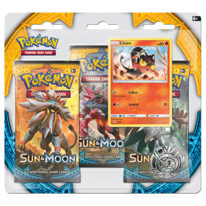 Pokemon Litten 3 Pack Blister