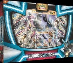 Pokemon Lucario GX Collection Box