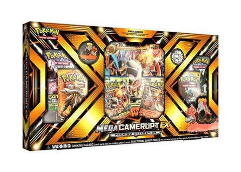 Pokemon Mega Camerupt EX Premium Collection Box