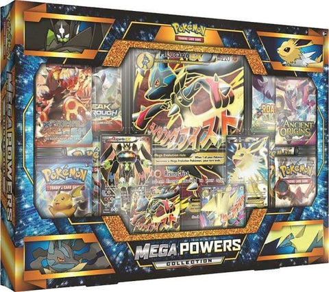 Pokemon Mega Powers Collection Box - Mega Lucario