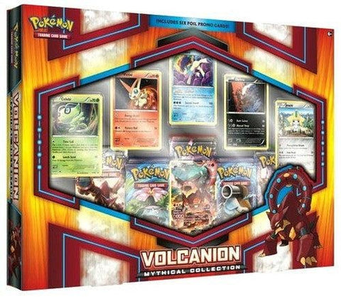 Pokemon Mythical Volcanion Collection Box