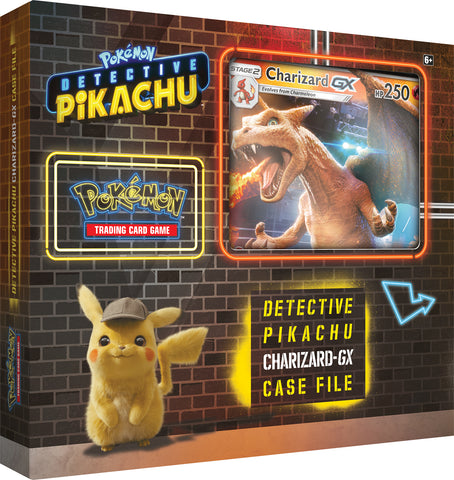 Pokemon - Detective Pikachu - Charizard GX Case File