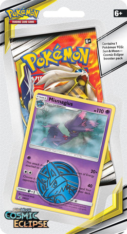Pokemon - Cosmic Eclipse - Checklane Blister - Mismagius