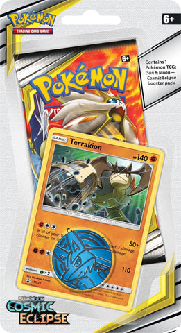 Pokemon - Cosmic Eclipse - Check lane Blister - Terrakion
