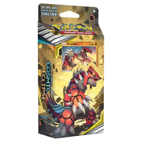 Pokemon - Cosmic Eclipse - Theme Deck - Groudon