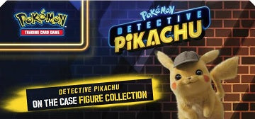 Pokemon - Detective Pikachu - Figure Collection Box