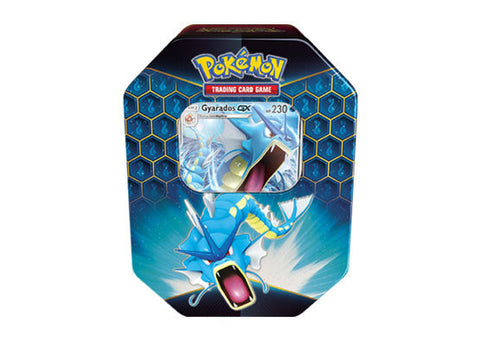 Pokemon Hidden Fates Tin - Gyarados GX