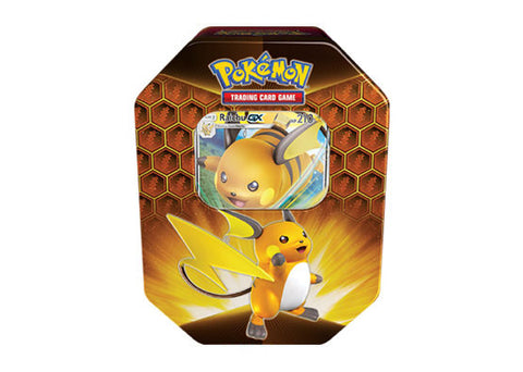 Pokemon Hidden Fates Tin - Raichu GX