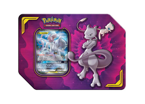 Pokemon Power Partnership Tin - Mewtwo & Mew GX