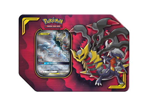 Pokemon Power Partnership Tin - Garchomp & Giratina GX