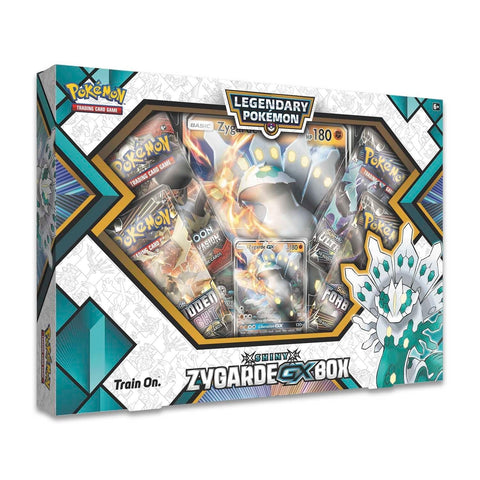 Pokemon Shiny Zygarde GX Collection Box