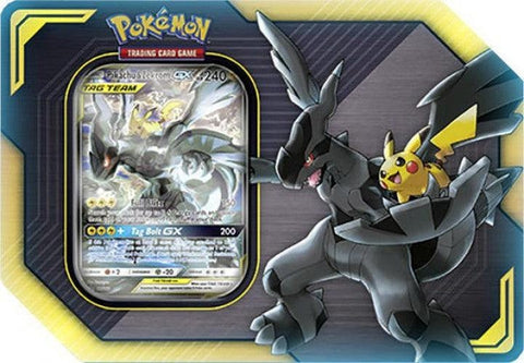 Pokemon Tag Team Tins - Pikachu & Zekrom GX