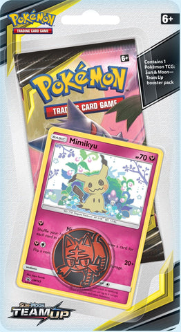 Pokemon - Team up - Checklane Blister - Mimikyu