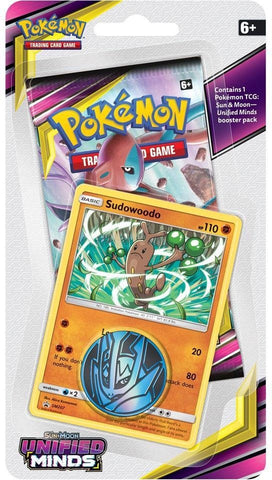 Pokemon - Unified Minds - Checklane Blister - Sudowoodo