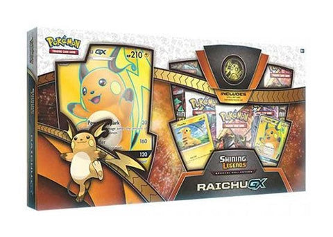 Pokemon Shining Legends - Raichu GX Box