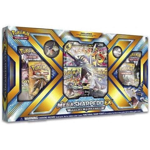 Pokemon Mega Sharpedo EX Premium Collection Box