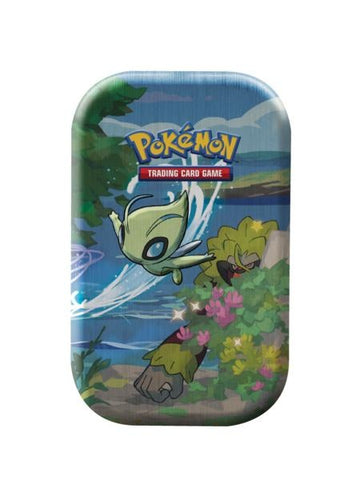 Pokemon - Shining Fates - Mini Tin - Celebi (Pre-order Mar 5 2021 - Delayed)